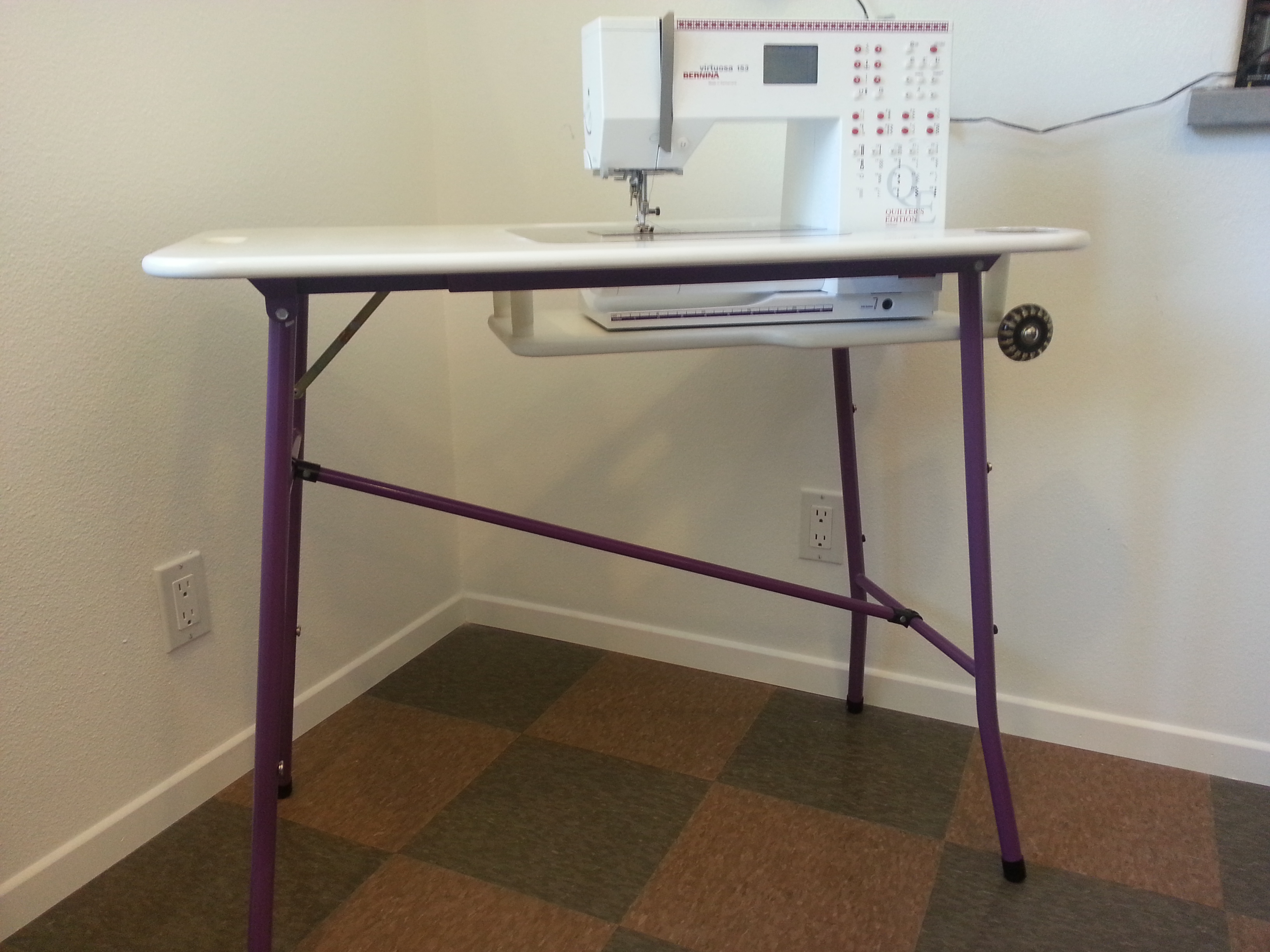 Portable Sewing Machine Table.Make Your Own Sewing Machine Extension Table