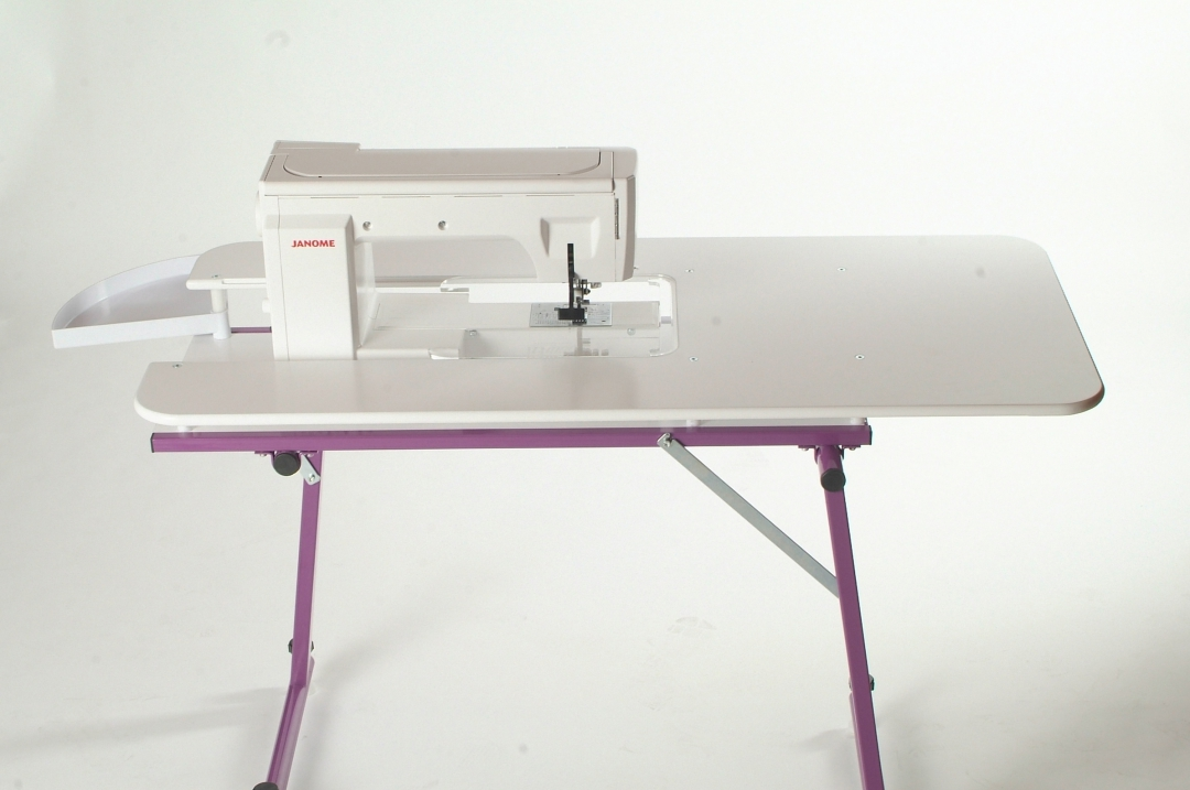 the sewezi grande is a relocatable sewing and quilting table designed for your sewing room this table gives you a spacious and comfortable workstation to - Grande Table